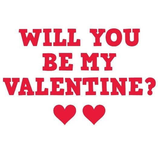Will You Be My Valentine Valentines Decoration Yard Decorations