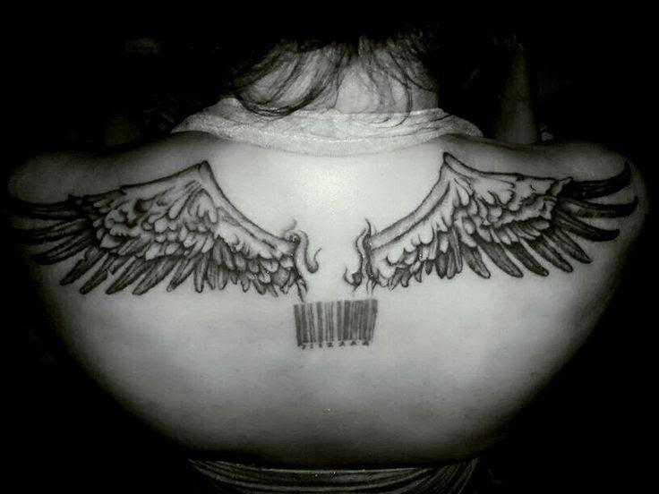 Eagle Wings Back Tattoo Animalcarecollegeinfo