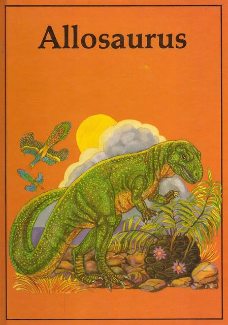 Allosaurus Book Cover