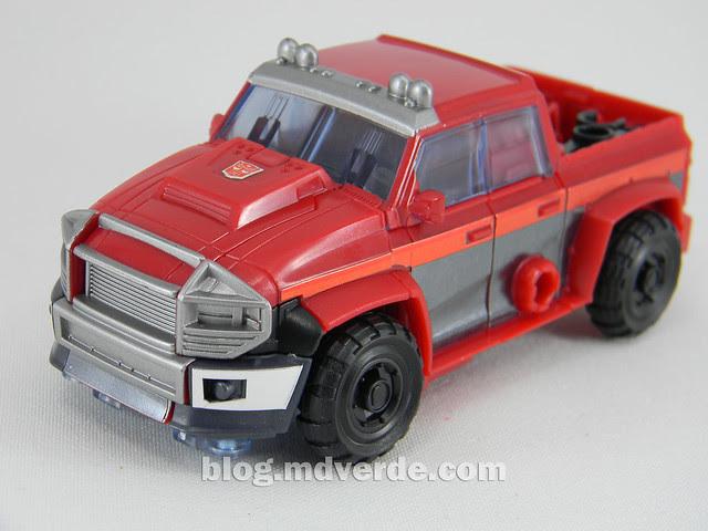 Transformers Ironhide Deluxe - Arms Micron - modo alterno