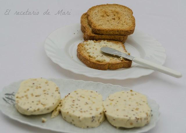mantequilla a la mostaza