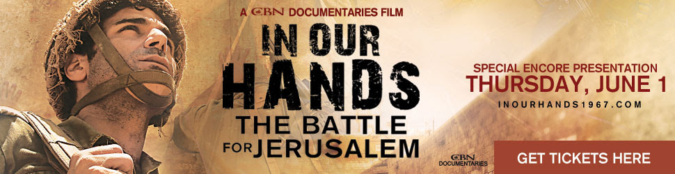 In Our Hands: The Battle for Jerusalem. Get Tickets