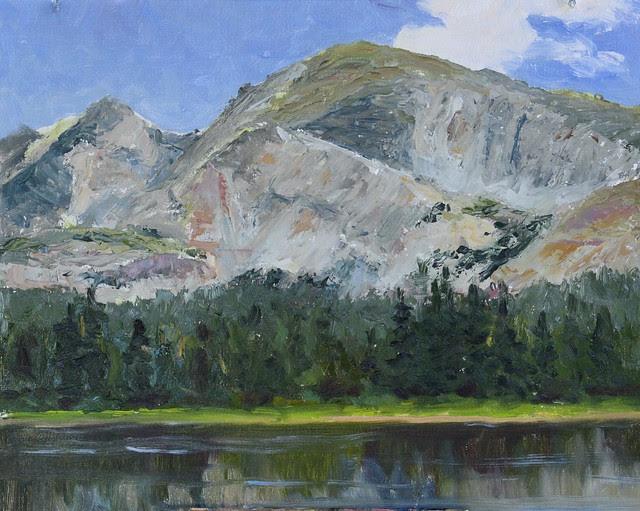 Mt Audubon over Brainard Lake