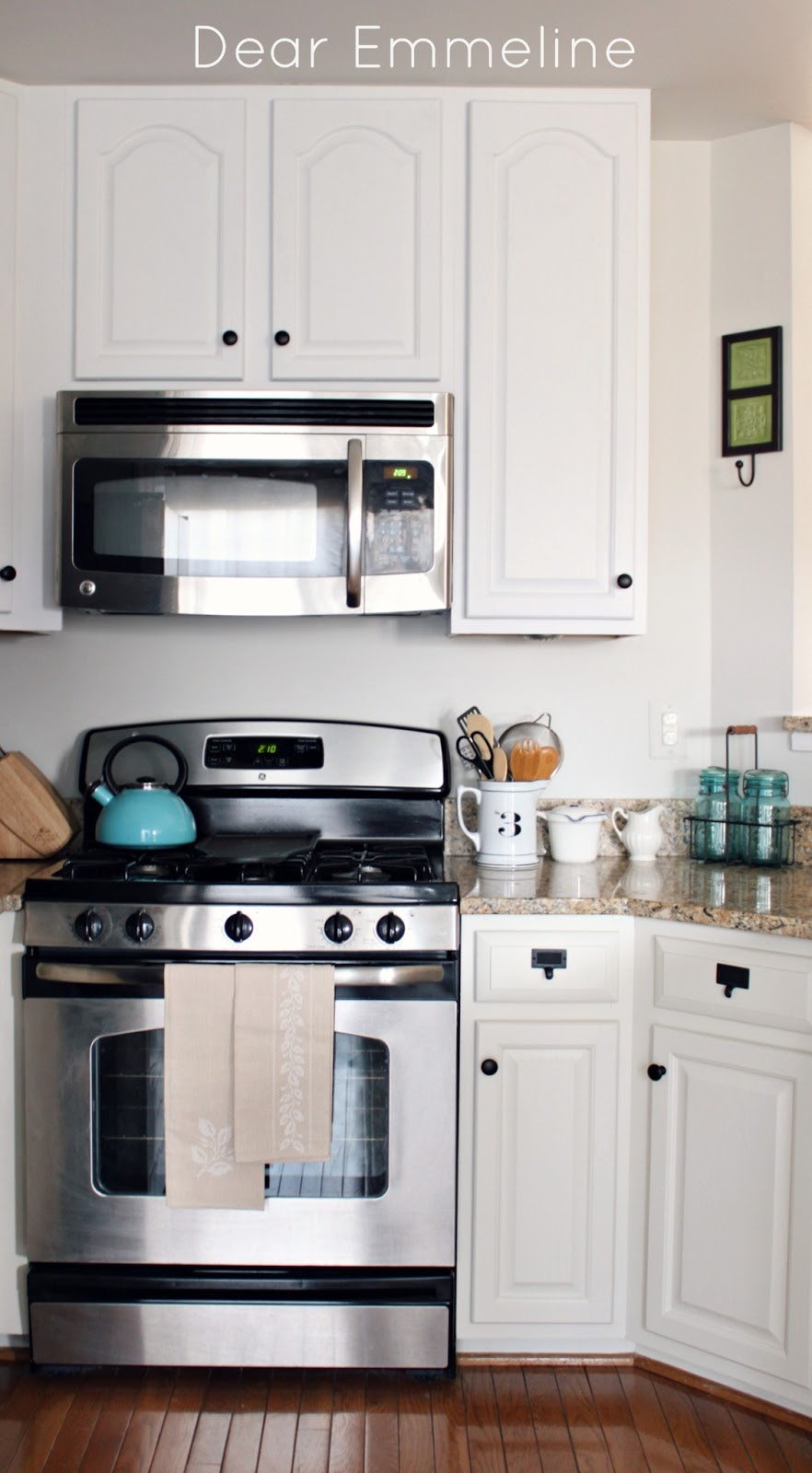 Kitchen Redo: Part Five {Painting the Cabinets with Nuvo ...