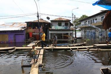 Flooding in the Peruvian Amazon