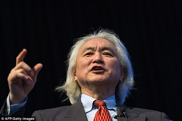 Visionary: Dr Kaku is best known for his expertise in theoretical physics but his latest book takes a look at how rapid advancements could bring about huge changes in how we understand – and use – our brains