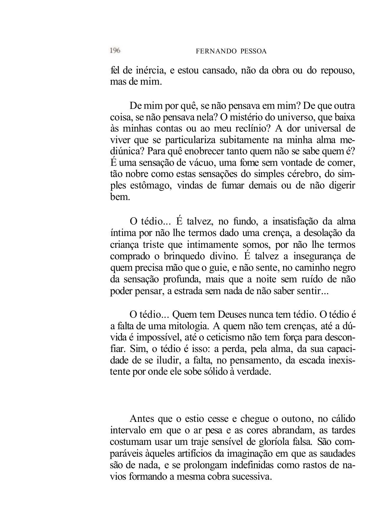 Livro Do Desassossego Fernando Pessoa Pages 151 200 Text