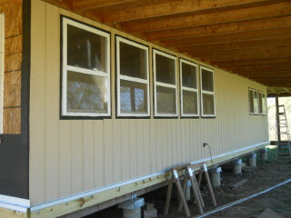 Lower North Siding Done