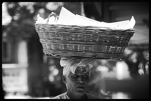The Bhaiyya And His Basket Full Of Hope by firoze shakir photographerno1