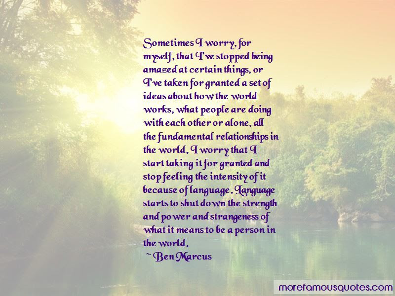 Quotes About Taking For Granted In Relationships Top 1 Taking For