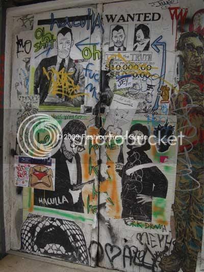 New York City Soho street art