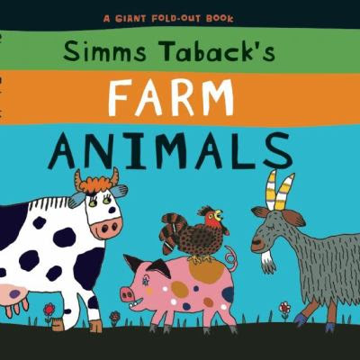 Cover Art for Simms Taback's farm animals