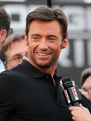Hugh Jackman at the X-Men Origins: Wolverine p...