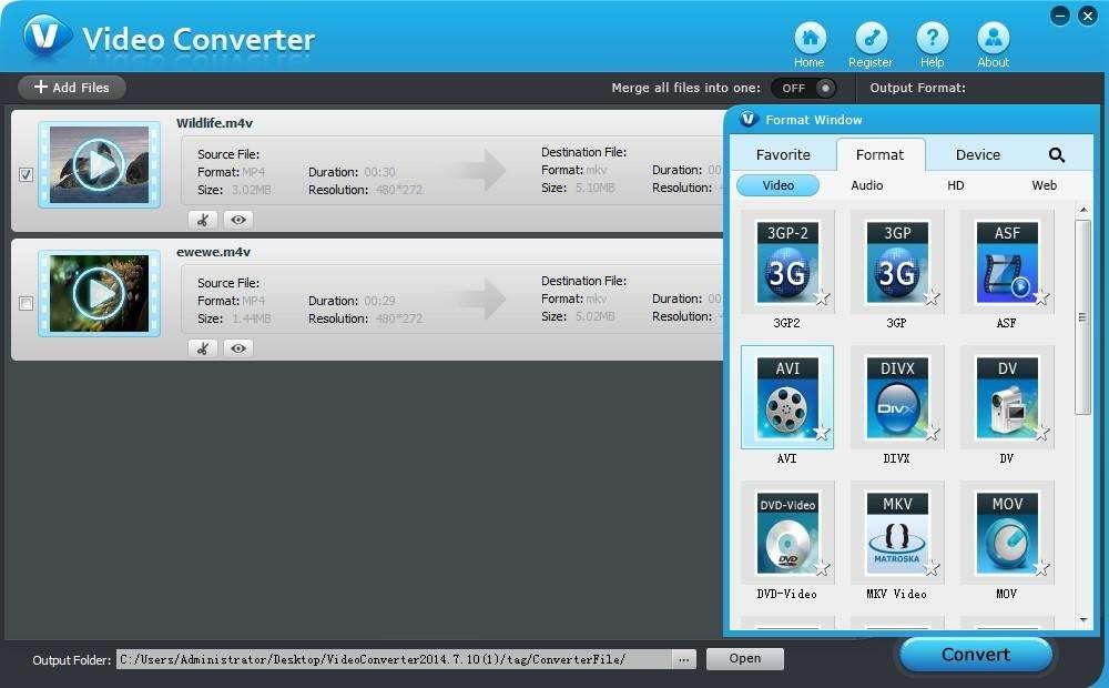 Tenorshare Video Converter