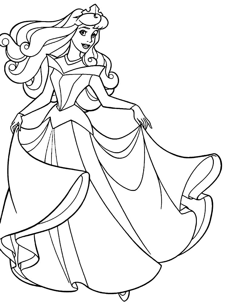 Imprimir Dibujos Para Colorear Princesas Para Ninos Y Ninas