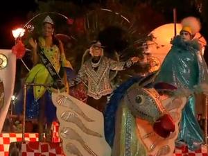 Balanço do Morro, campeã do carnaval de Natal (Foto: Reprodução/Inter TV Cabugi)