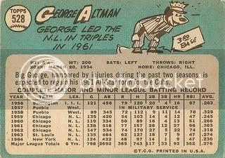 #528 George Altman (back)