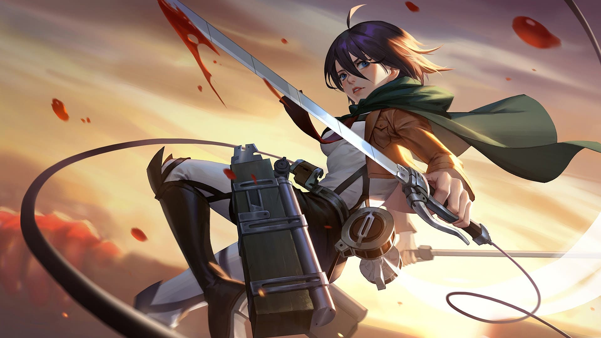 Top 95 Attack On Titan Wallpapers 4k Hd