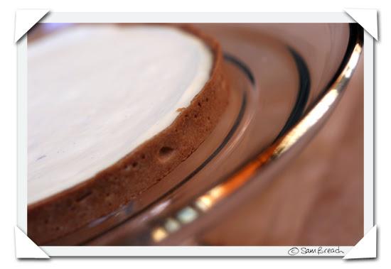 picture photograph creme brulee tart from petite patisserie organic bakery  2007 copyright of sam breach http://becksposhnosh.blogspot.com/