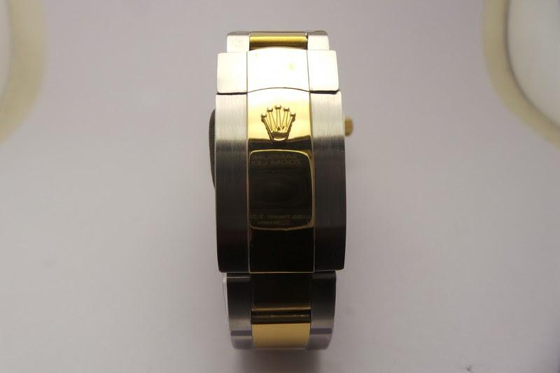 Rolex Gold Crown Buckle