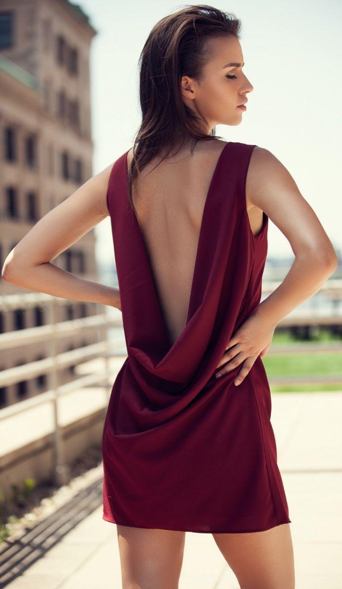 Show Off Open Back Dress | Haute Rogue