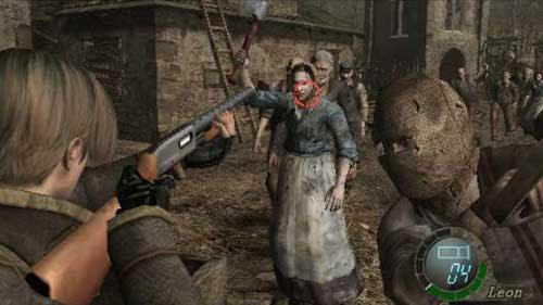 Wii版生化危机4游戏截图
