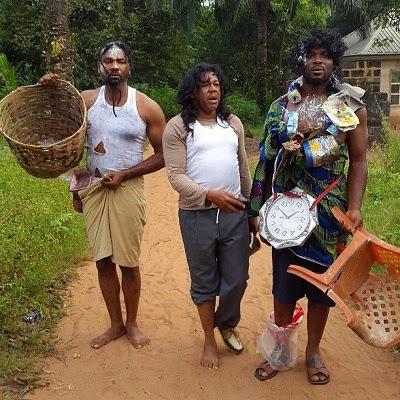 francis duru, emeka enyiocha, prince ekeh, go mad for new movie