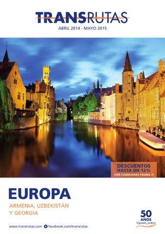 Transrutas Europa Abril 2014 a Mayo 2015