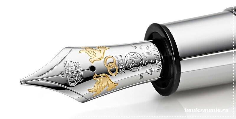 Самая дорогая авторучка в мире - Montegrappa Peace Pen