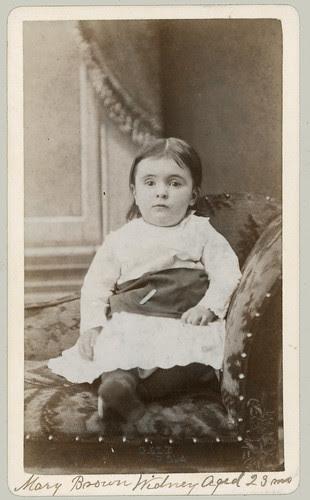 CDV Mary Brown Sidney aged 23 mo.