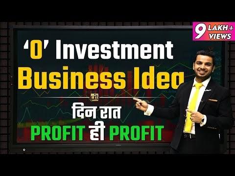 Zero Investment Business Idea | Financial Education