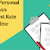 Get Online Personal Loans at Low Interest Rates in 2019