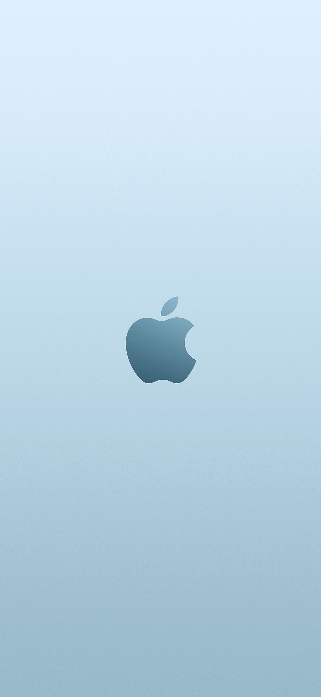 Iphonexpapers Com Iphone X Wallpaper Au13 Apple Blue Minimal
