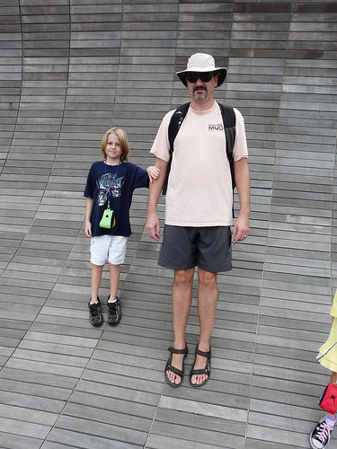 Jeff and Declan at Henderson Waves