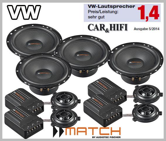 vw passat b7 car speakers german winner upgrade kit front   rear doors