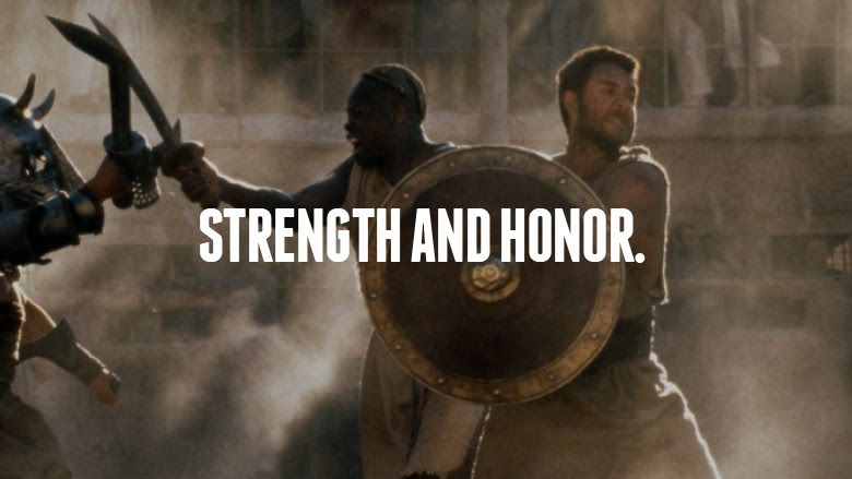 Quotes From The Movie Gladiator. QuotesGram