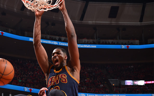 Tristan Thompson's probably pretty mad at his free agency process.     (USATSI)