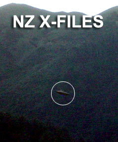 The UFO spotted over Wellington on July 17 2008