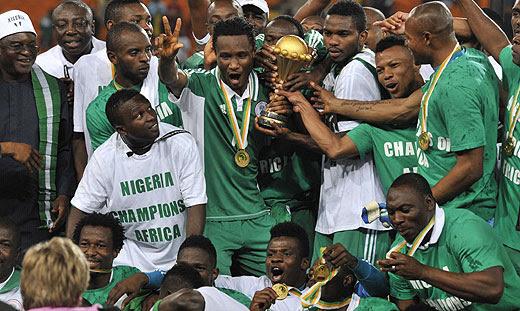 Nigéria CAN 2013