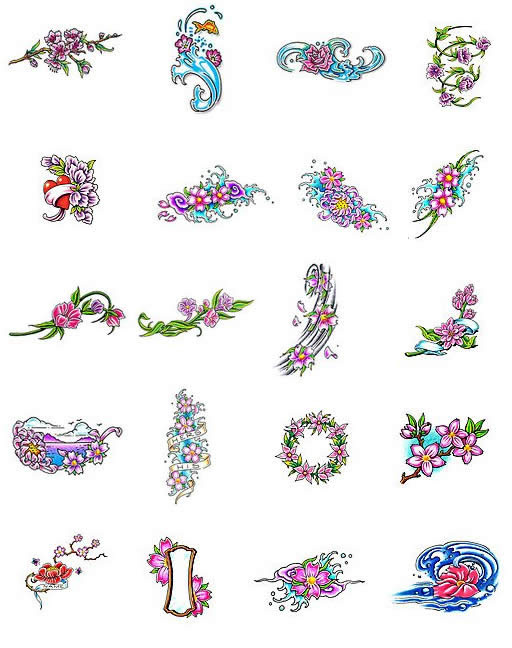 Cherry Blossom Tattoo Design On Arm For Women Tattoomagz