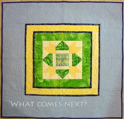 preemie quilt from an orphan block