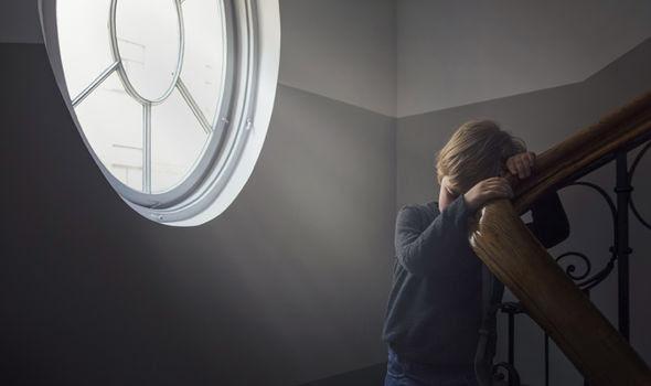 Kid by window