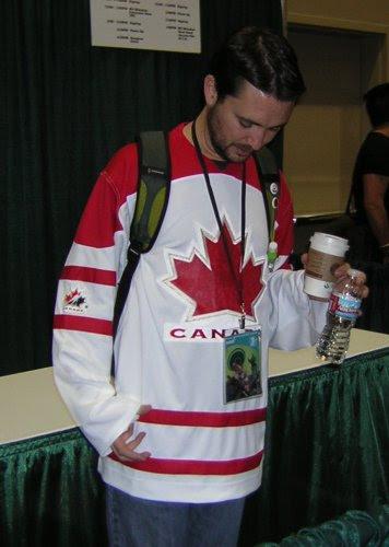 Wil Wheaton in Canada Jersey