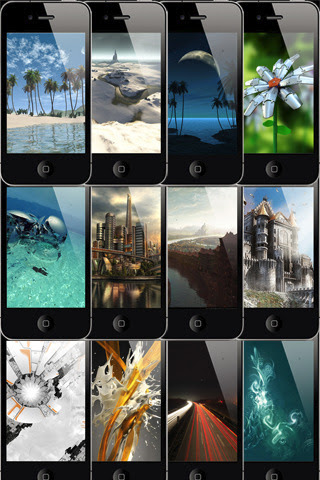 Cool 3D Wallpapers iPhone