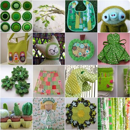 green flickr inspiration