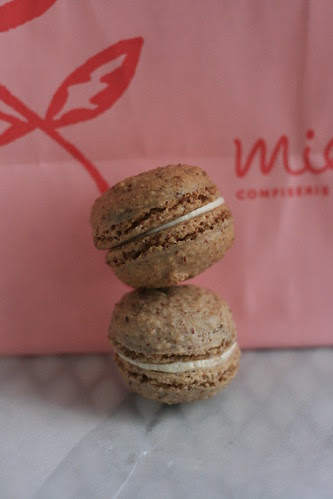 Grapefruit Macaron from Miette Bakery - Ferry Building Marketplace, San Francisco, CA