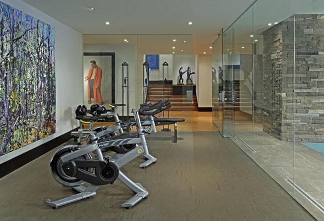 Exercise Room - contemporary - home gym - toronto - by Douglas ...