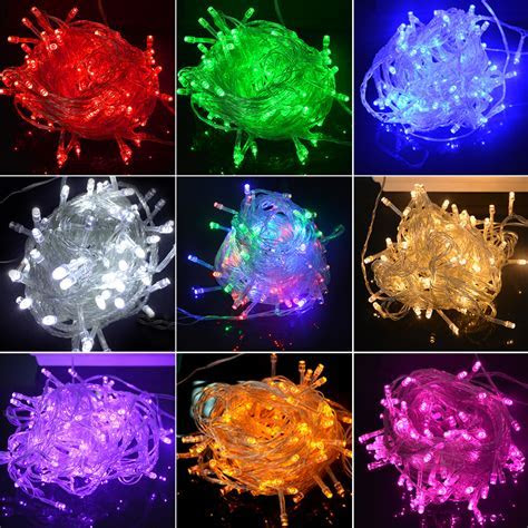 RGB holiday light LED String Light 20M 220V 200 LED