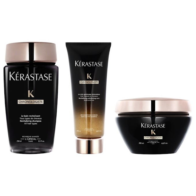 K\u00e9rastase Chronoligiste Revitalising 3 Step Regime Free Shipping Lookfantastic