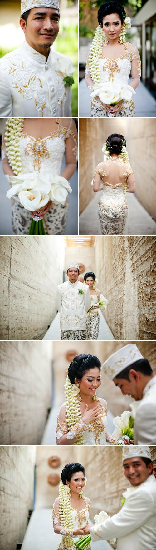 Traditional Indonesian Wedding in Bali | Junebug Weddings